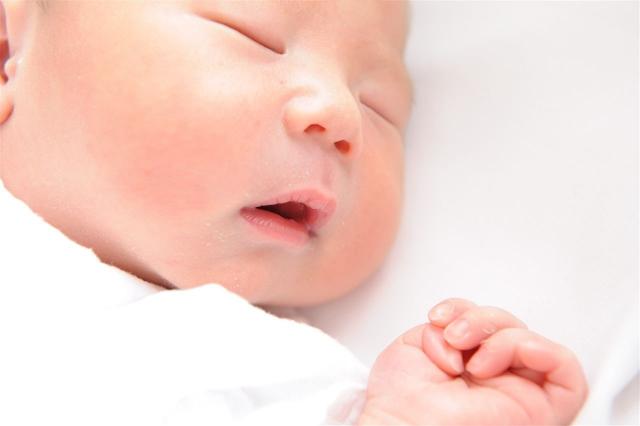 寝ている赤ちゃんのイメージ