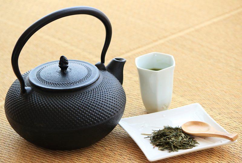 日本茶の画像