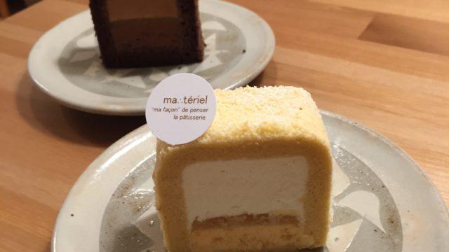 マテリエルのケーキ