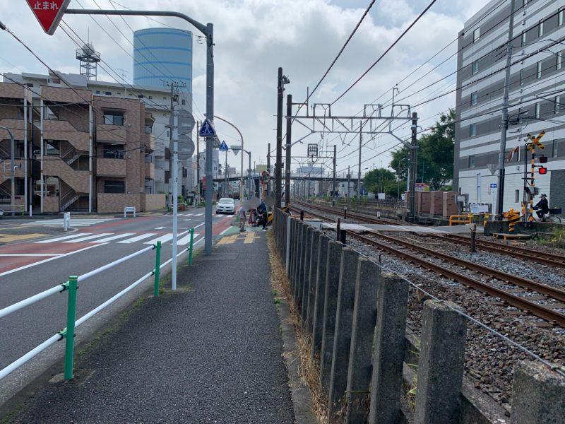 東武練馬二つ目の踏切