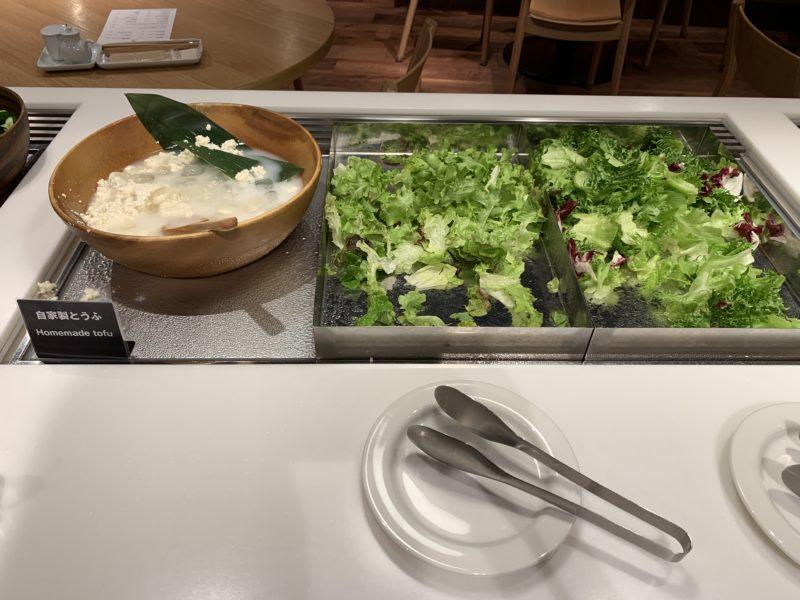 MUJI Dinerのサラダバー