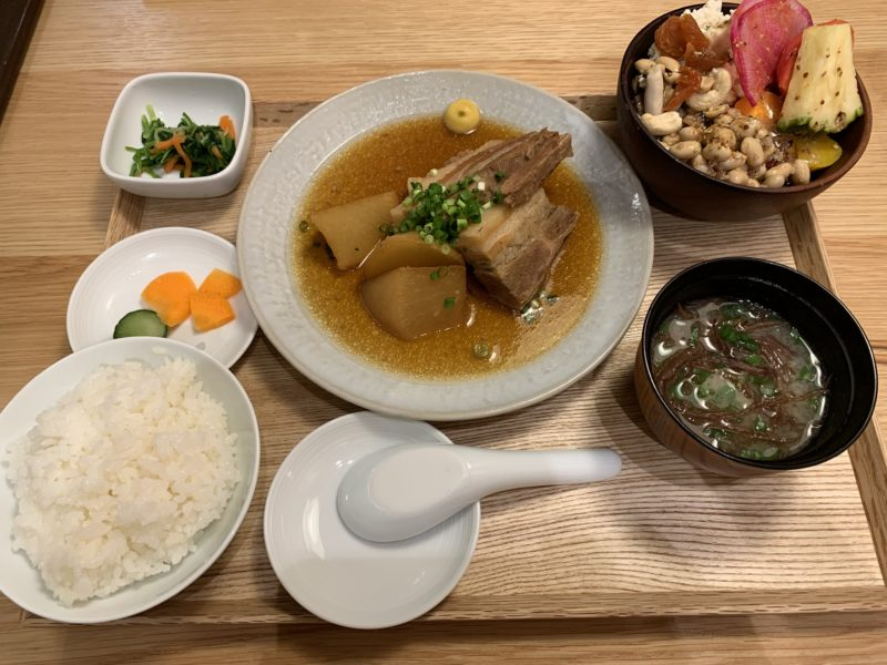 MUJI Dinerの定食
