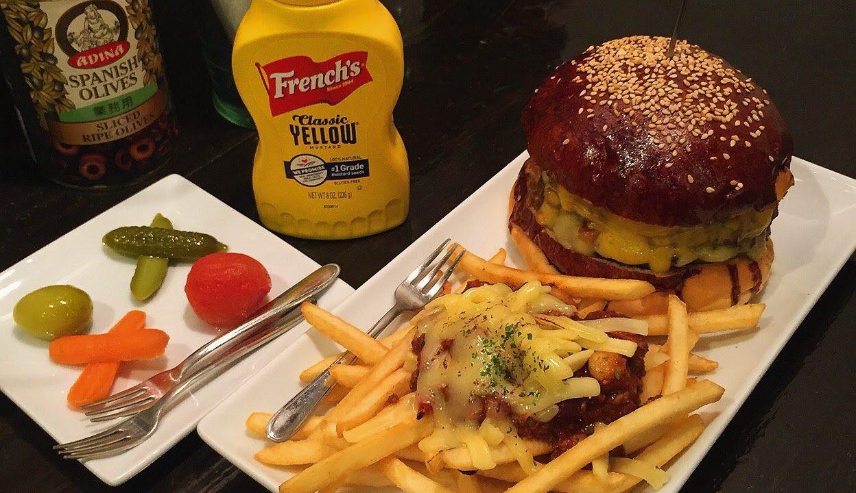 ハングリーヘブンのハンバーガー