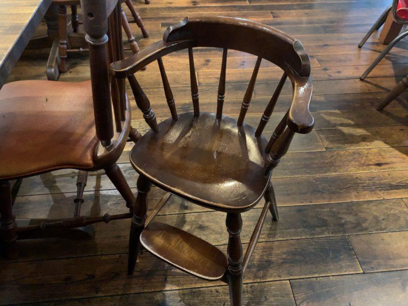 ロックポットの子供椅子